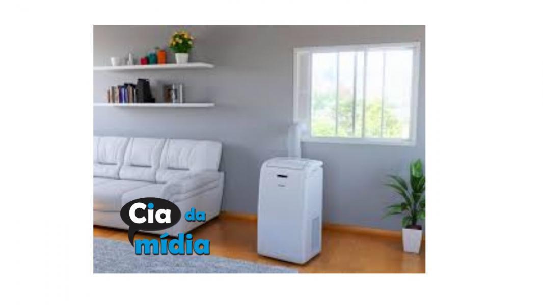Cia da Mídia - Ar condicionado Portátil