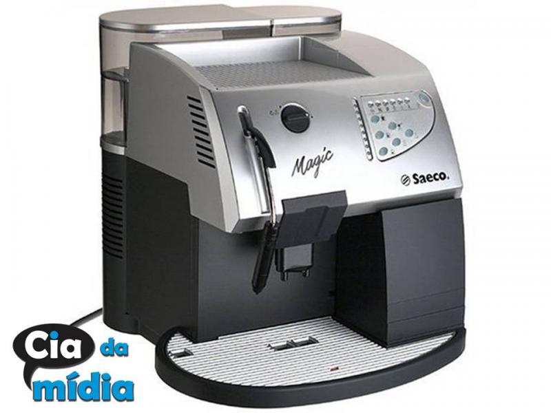 Cia da Mídia - Máquina de Café Expresso Marca: Saeco / Modelo de - Luxe