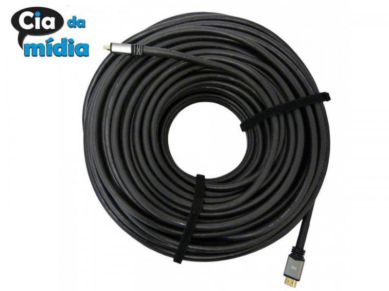Cia da Mídia - Cabos HDMI todas as medidas até 50 mts