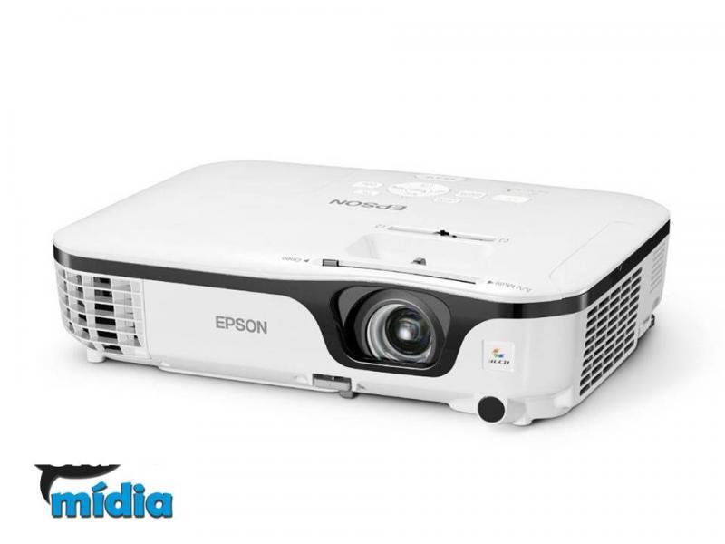 Cia da Mídia - Projetor multimídia Epson  powerlite X14