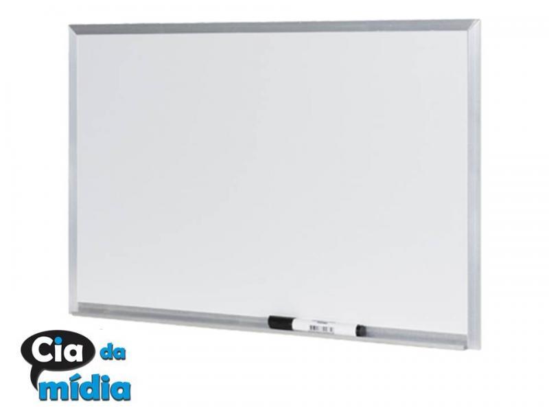 Cia da Mídia - Quadro branco 1,50 x 1,00