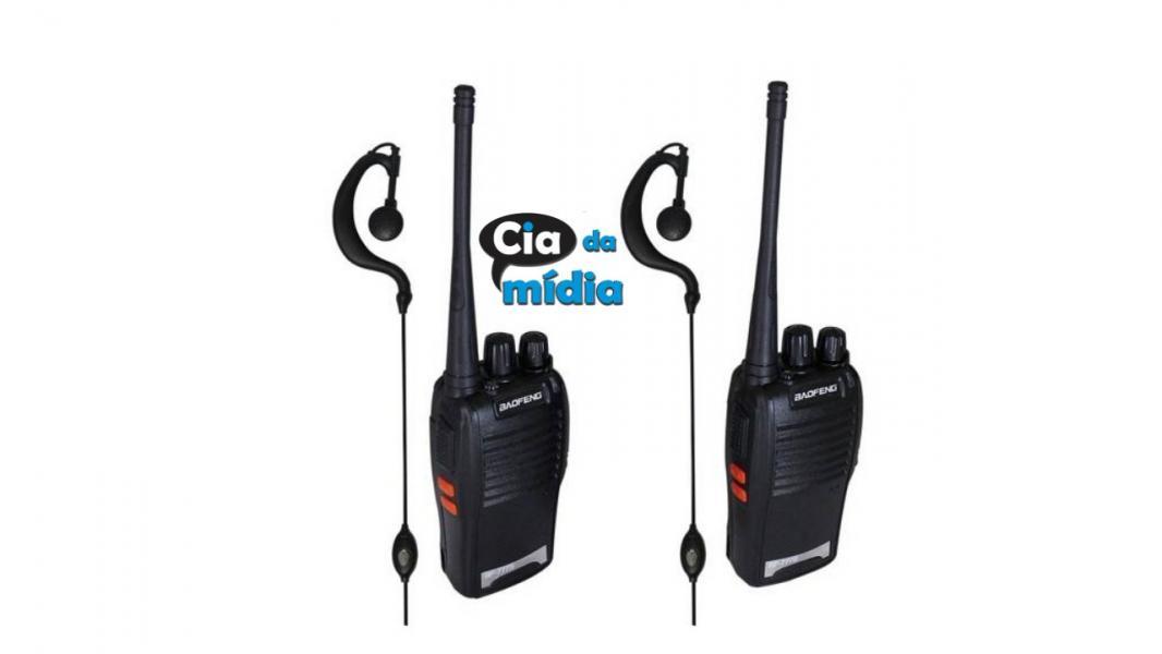 Cia da Mídia - Rádio Comunicador Walk Talk