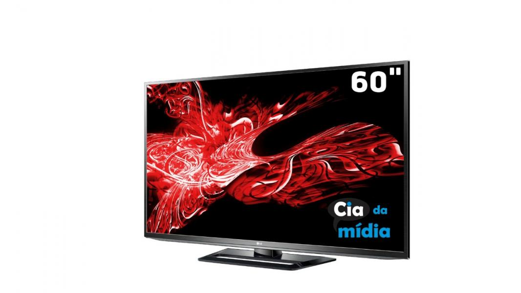 "Cia da Mídia - TV 60"" Plasma Full HD"