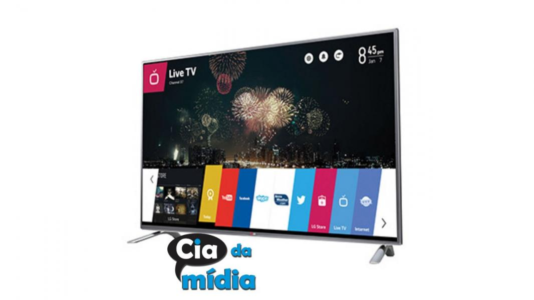 Cia da Mídia - Smart TV LED  43""