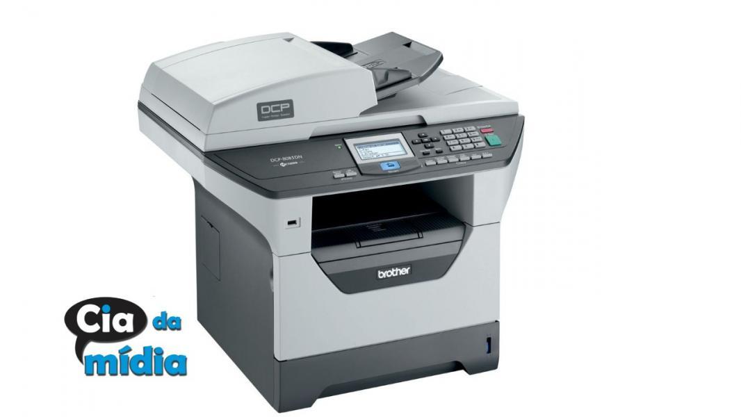 Cia da Mídia - Impressora  Brother  MFC-8890DW WI-FI