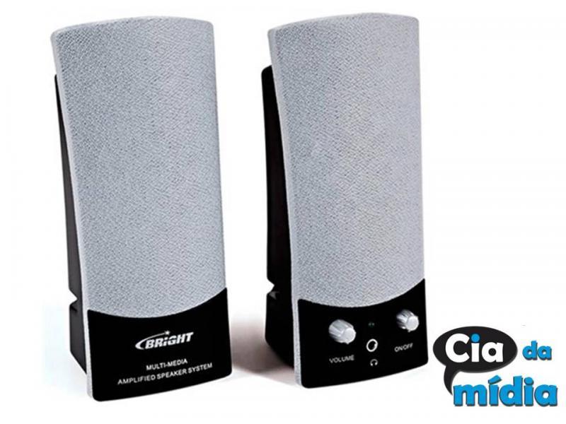 Cia da Mídia - Caixa de som para PC